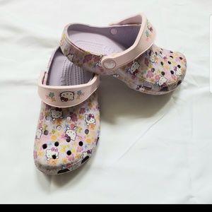 CROCS Hello Kitty, size 12-13